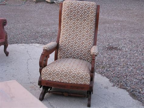 Rocking Chair Upholstery by Vintage Upholstered Rocking Chair Plushemisphere