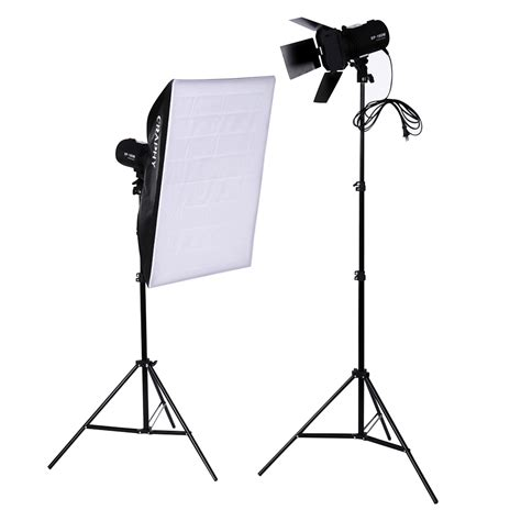 light stand for off camera flash 1000w strobe studio photo continuous lighting kits flash