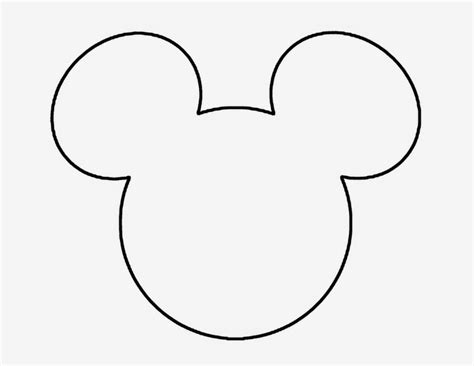 Centro De Mesa Do Mickey Para Festas Infantis Dicas Pra Mam 227 E Mickey Ear Template