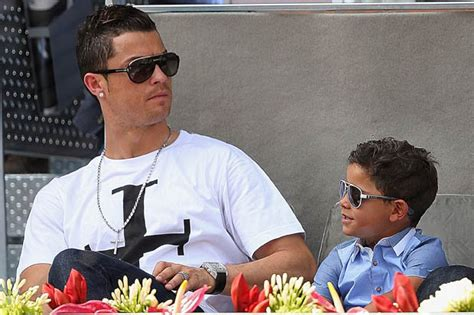 biography of cristiano ronaldo jr cristiano ronaldo s family keep four year old son in the