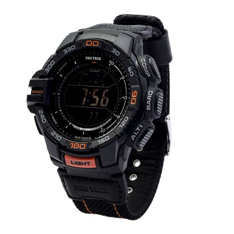 Casio Protrek Prg 270 7d Original casio protrek prg 270b 1dr solar power black digital