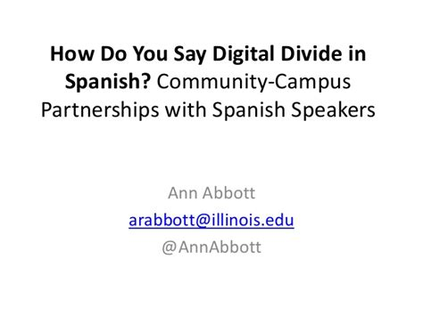 how do u say couch in spanish how do you say digital divide in spanish community cus