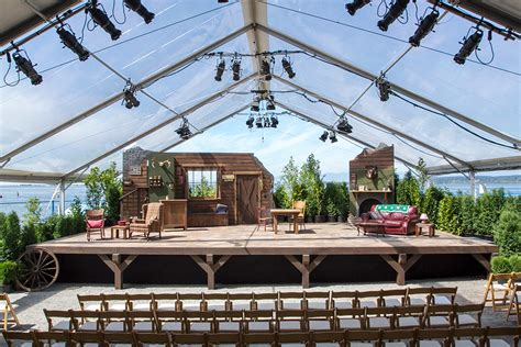 stage house beach house theatre stage scene ideas