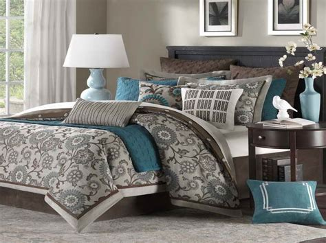 ideas turquoise and brown bedroom ideas best paint color combinations with grey carpet