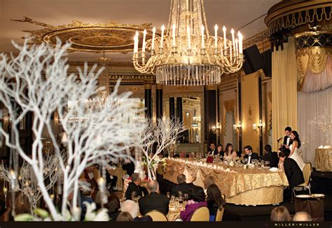 empire room palmer house emily s palmer house hotel wedding chicago wedding photographers