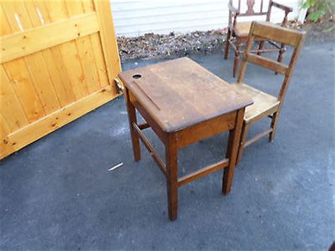Antique School Desk Price by Children S School Desk And Chair All Wood With Ink