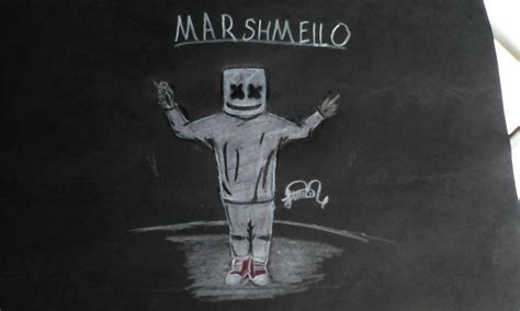 New Kaos Marshmello black marshmello dj