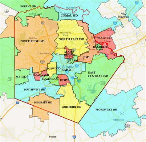 Bexar County Civil Search Bill Seeks To Study District Consolidation In Bexar County