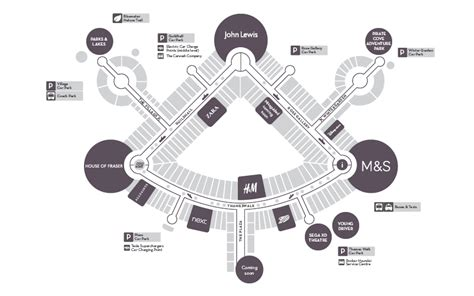 bluewater floor plan centre map bluewater shopping retail destination kent