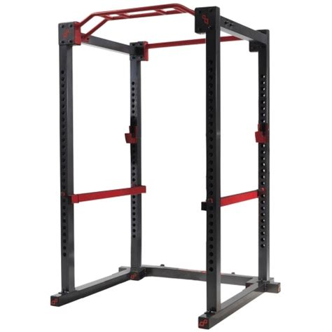 my squat rack in my home gymming equipment