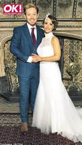 adam rickitt marries good morning britain reporter katy fawcett daily mail online
