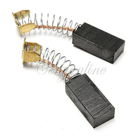 brushes for electric motors 2pcs electric motor carbon brushes various sizes for