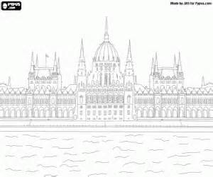 Monuments And Other Sights In Europe Coloring Pages Printable Games sketch template