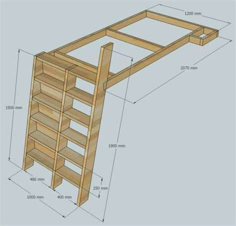 loft beds  bookshelf ladders diy bookshelf bed