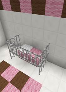 minecraft baby room bed crib furniture minecraft