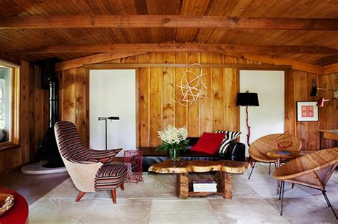 wood walls in living room 20 charming living rooms with wooden panel walls rilane
