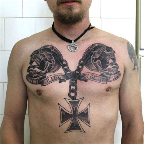 mc tattoos 85 best biker designs meanings for