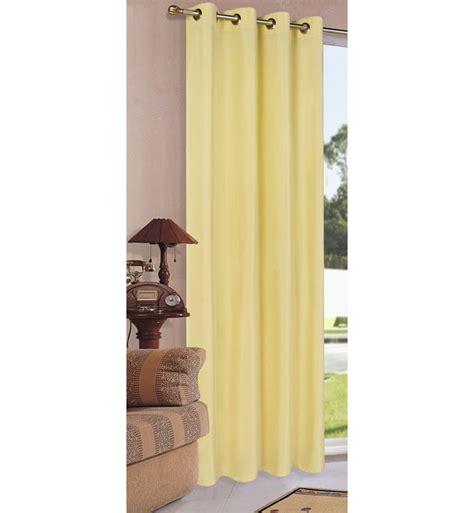 vorhang gelb vorhang blickdicht schal mit 214 sen aus microsatin matt 20405