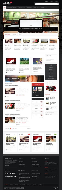 joomlart theme joomlart orisite v1 1 7 news template for joomla