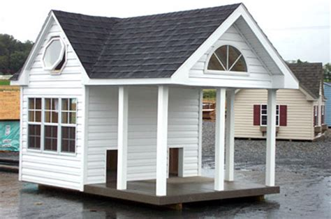 dog house with covered porch garden houses by signe s little houses