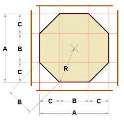 Calculating Square Footage Of House octagon layout calculator