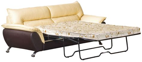 2819 two tone bonded leather sofa set with sofa bed