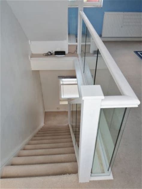 glass banisters projects