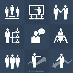 human resources icons set psd psdblast