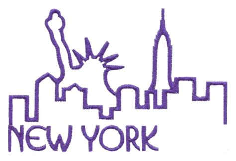 embroidery design ny skylines new york embroidery designs machine