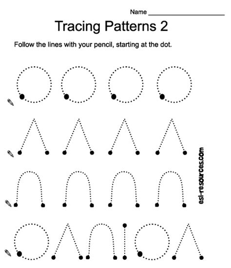 pattern activities pinterest tracing homeschool pinterest patterns and worksheets