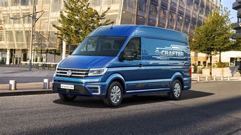 electric volkswagen van volkswagen e crafter electric van concept revealed