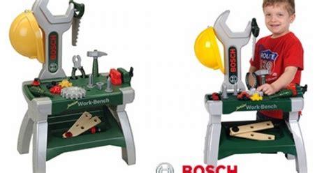 bosch toy work bench bosch junior workbench 163 19 99 home bargains