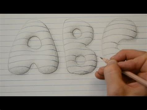 how to draw 3d letters drawing the alphabet in 3d with paolo morrone doovi 1296