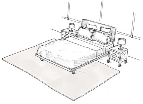 how to place a rug under a bed 17 best ideas about rug under bed on pinterest bedroom