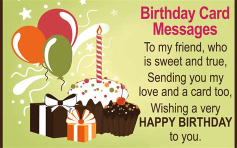 card messages a collection of birthday card messages you ll be
