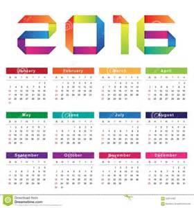 Calendario Semanas Calendario 2016 Por Semana Printable Calendar Template 2016
