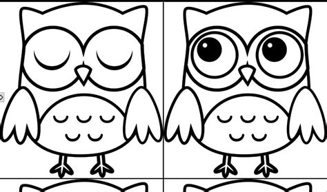 Pictures Of Owls To Color by Baby Owl Coloring Pages Coloring Home