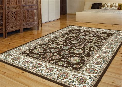 1001 area rugs promo code tayse area rugs rugs 1001 brown 5x8 6x9 rugs rugs by size free shipping at