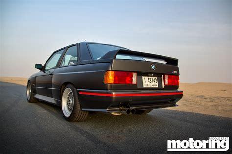 1987 e30 bmw 1987 bmw e30 m3 driven in dubai motoring middle