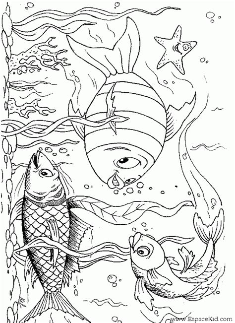ocean background coloring page coloriage poissons sous l oc 233 an 224 imprimer dans les