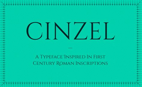 Cinzel Decorative by Cinzel Decorative Font By Natanael Gama Fontspace