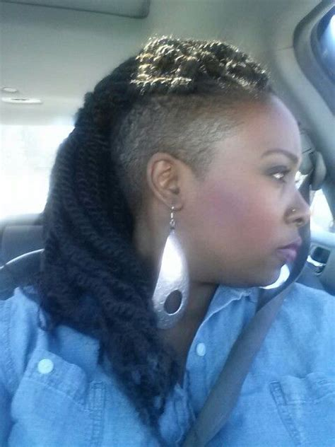 kinky twist with shaved sides 65 best images about shaved sides braids twists on