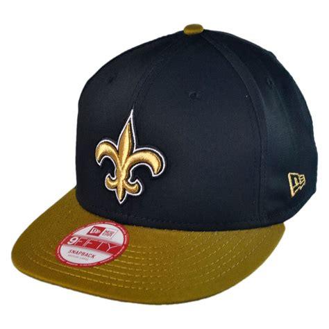 nfl hats new era new era new orleans saints nfl 9fifty snapback baseball