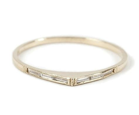 thin bronze wedding ring once wed