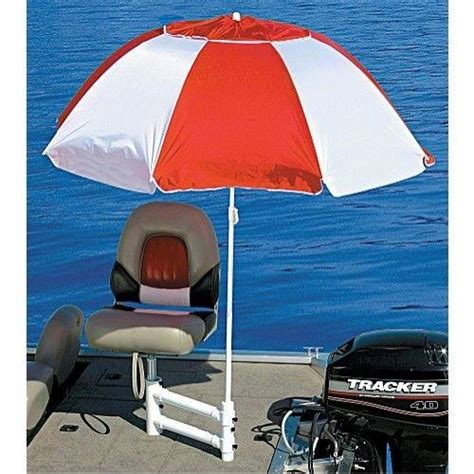 boat with umbrella bass pro shops fish n shade boat umbrella or umbrella hold