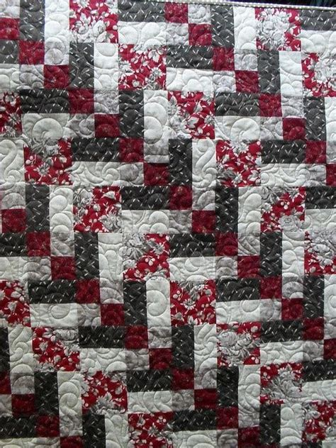 White Patchwork Quilt - 127 best black white quilts fabric images on