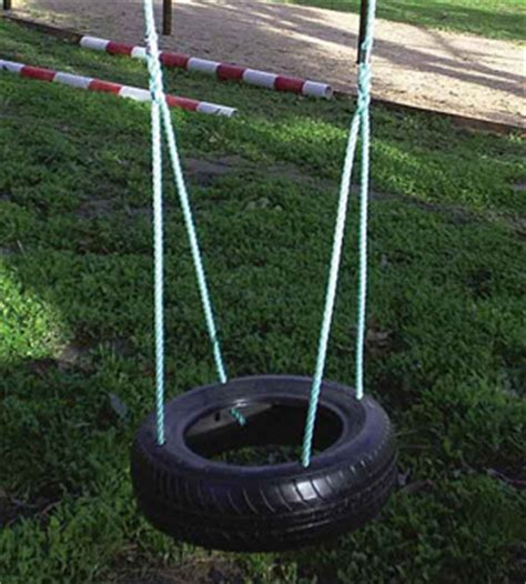 Horizontal Tyre Swing