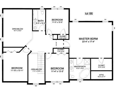 Floor Plan Design Free draw layout of house inspiring plans free home security