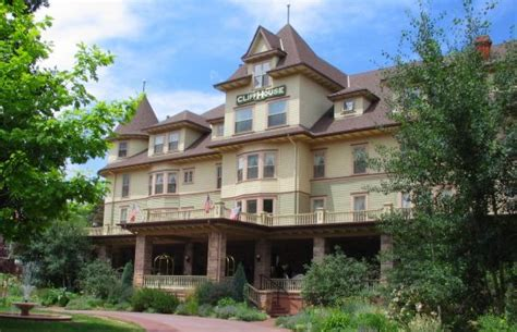 cliff house colorado springs the cliff house hotel in manitou springs colorado