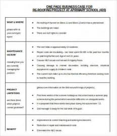 How To Create A Business Case Template Business Case Template Word 9 Free Word Documents